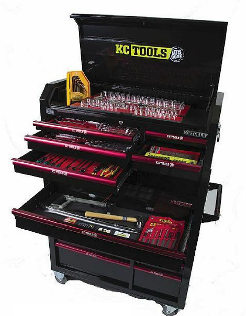 KC Tools 322Pce Mega Metric & AF Tool Kit
