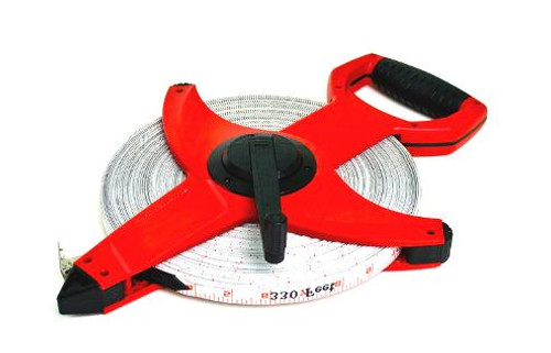 Heavy duty ABS frame Nylon coated fibreglass tape Shock absorbing rubber bumpers Fibreglass displays highest tensile strength Steel guide rollers to enable smooth twist free rewinding LTS is an open reel tape giving a longer fibreglass tape length.