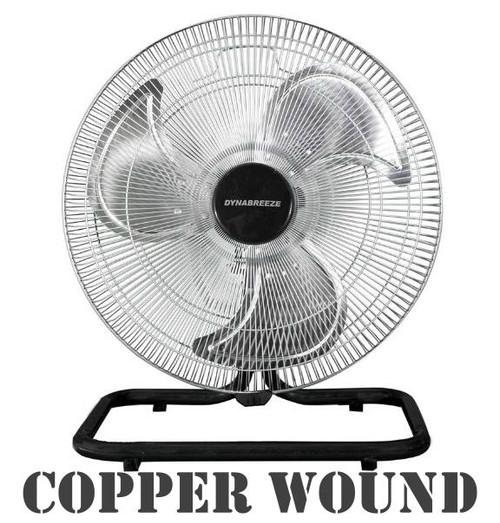 Copper Wound Dynabreeze Oscillating 450mm Fan Motor