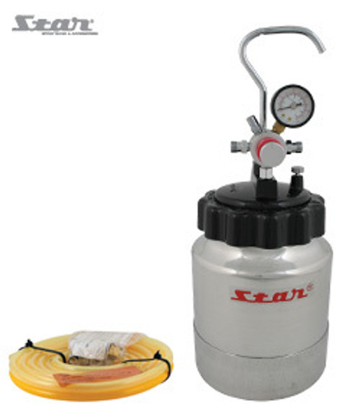 Kit includes: Star 2L pressure pot 5M twin hose set