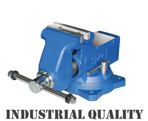 "Be quick for this Industrial quality SP Tools heavy duty vice. Made to the highest standard from the best materials these are a life long vice!  Swivel base 115mm (4-1/2"") Made from the highest quality ductile iron for increased impact and fatigue resistance"
