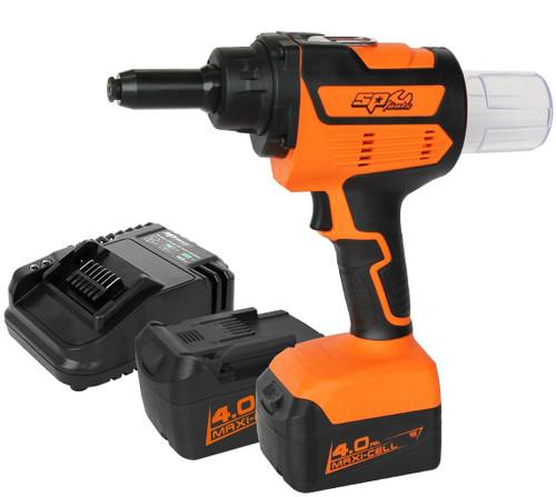 "SP Tools 18v Industrial Riveter Up to 6.4mm (1/4"")"