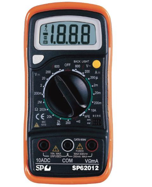 SP Tools Electrical Digital Multimeter SP62012