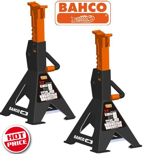 Bahco Trade Series 3 Tonne Jack (Axle) Stands.