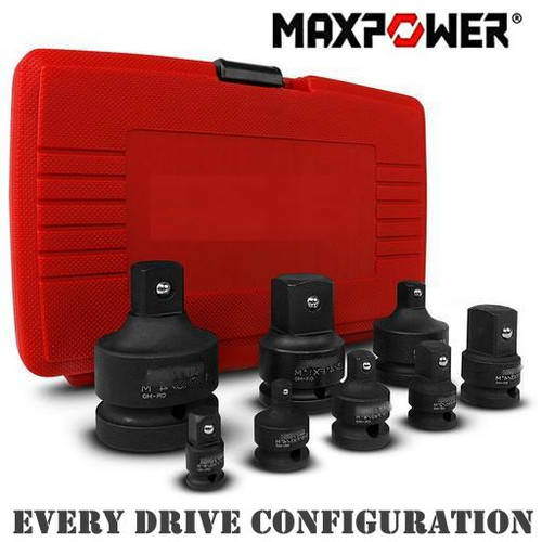 MaxPower Mega Multi Impact Socket Adaptor Kit