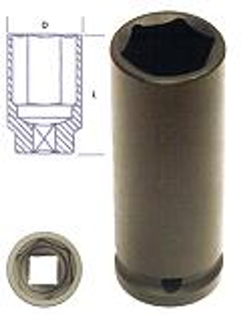 "KC Tools 3/4""  Drive Deep Impact Socket 11/16""."