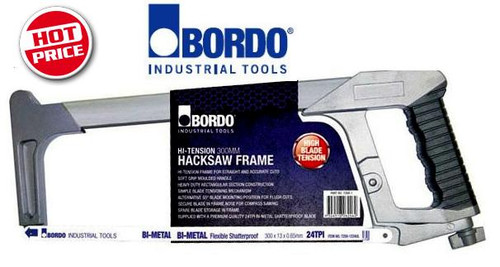 Bordo Trade 300mm Hi-Tension Hack Saw. Clearance Price!