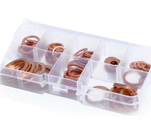 Workforce 80 Pce Copper Washer Assortment