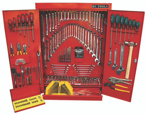 ATK50 KC Tools Classic 248pce Wall Cabinet Toolkit