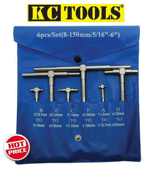 1A KC Tools Telescopic Gauge Kit. Limited Stock!