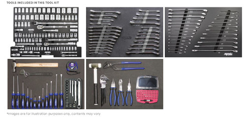 SP Tools 296Pce AF MM Tech Series Toolkit