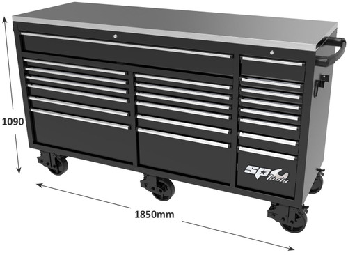 "SP Tools 128"" USA Sumo Series  Ultimate Work Station."