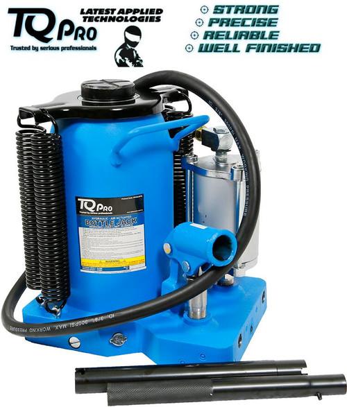 TQPro Expert Bottle Jack Air/Hydraulic 30,000kg Welded Base