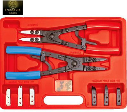 WinTool Circlip Plier Kit W/Interchangeable Tips