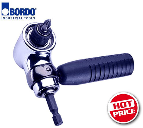 Bordo 90º Angle Driver Insert Bit Holder. HOT CLEARANCE PRICE!