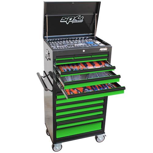 SP50105G SP Tools 307pc Metric SAE Toolkit Green