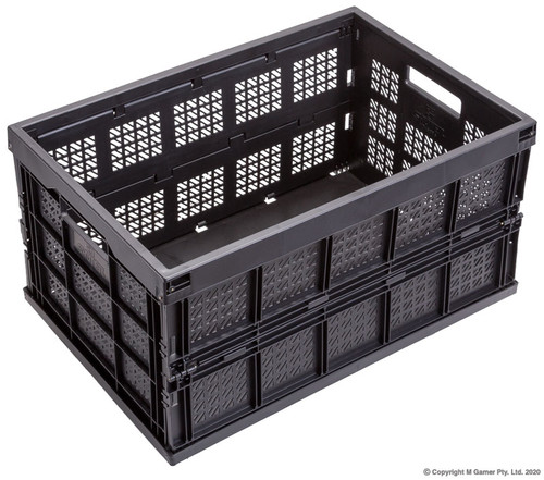 Geiger Foldable Stackable Storage Crates.