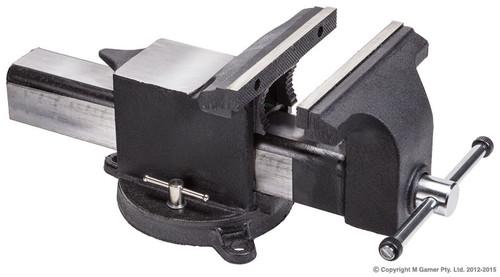 Geiger 150mm Steel Body Industrial Vice Swivel + Anvil