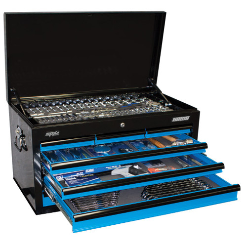 SP Tools 269pc Metric/SAE Tool Kit Blue Black. Hot Price!