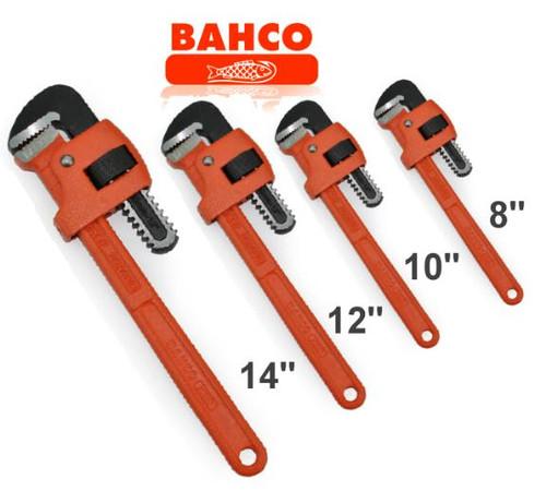 Bahco Pipe Wrench 4pce Bonus Pack. Hot Price!