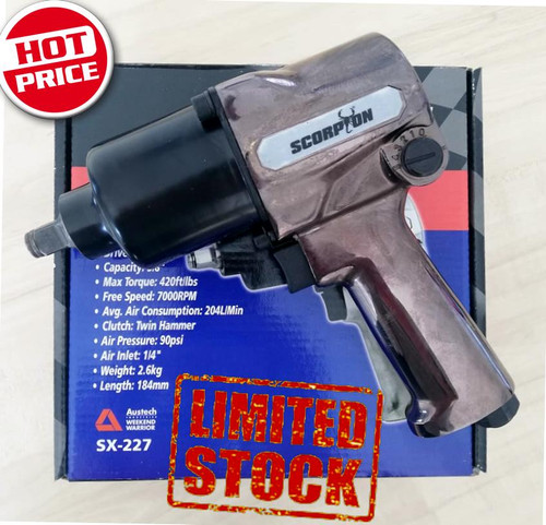 """Scorpion Limited Edition 570Nm 1/2"""" Impact Wrench"""