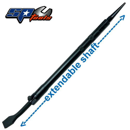 SP Tools Extendable Pry Bar + Jimy End