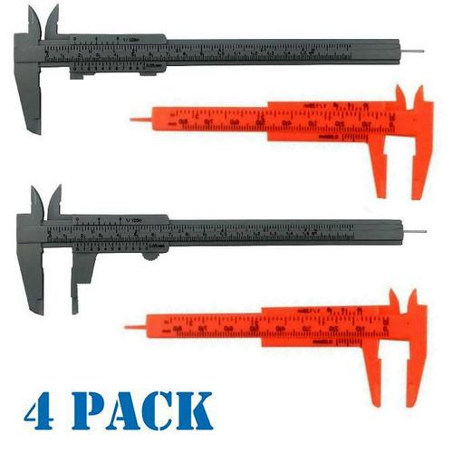 Workforce Plastic Vernier Caliper Set 2 for 1 Pack