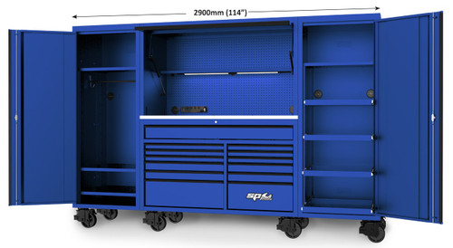 """SP Tools 114"""" USA Sumo Series Ultimate Work Station"""