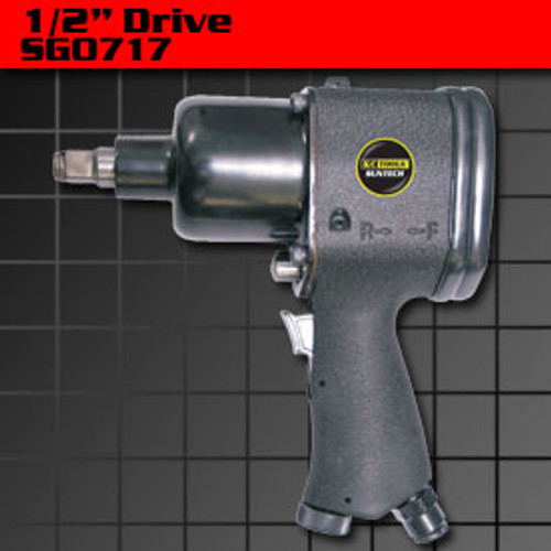 KC Air 1/2 inch DRIVE IMPACT GUN 380 ft lbs SG0717