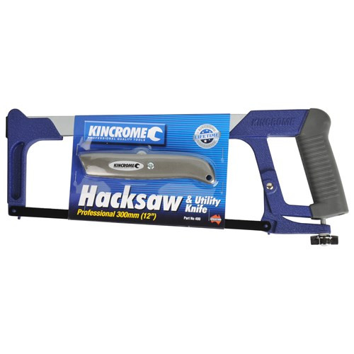 "400 KINCROME Hacksaw Frame Heavy Duty 12""(300mm)."