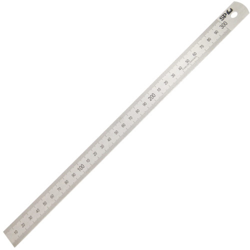 SP TOOLS STAINLESS STEEL RULE 12inch (300mm)