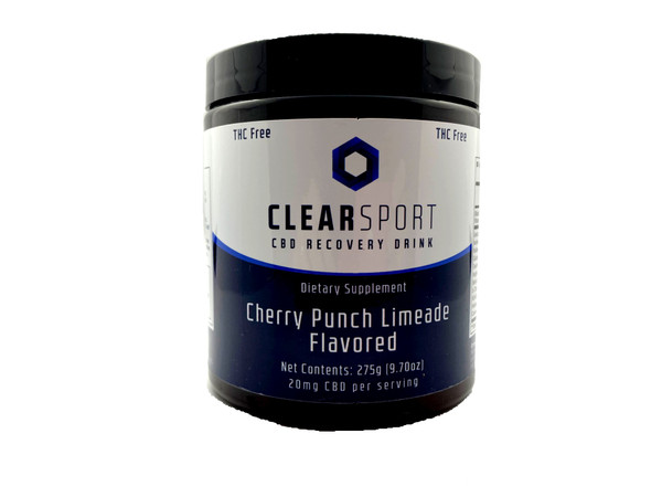 Clear Sport Hemp Extract Recovery Drink Front