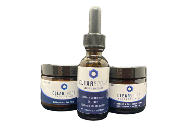 Clear Sport Topical Treatment Combo