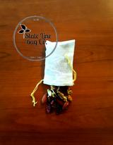 "2.75"" x 4"" Economy Single - Drawstring Cotton Muslin Bag"