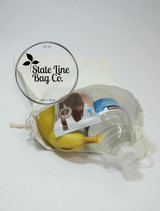 "12"" x 20"" Premium Double - Drawstring Cotton Muslin Bag All Uses"