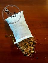 "4"" x 6"" Economy Single - Drawstring Cotton Muslin Bag"