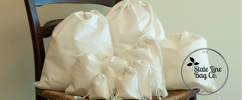 60235f8499 What is a Muslin Bag? - State Line Bag Company