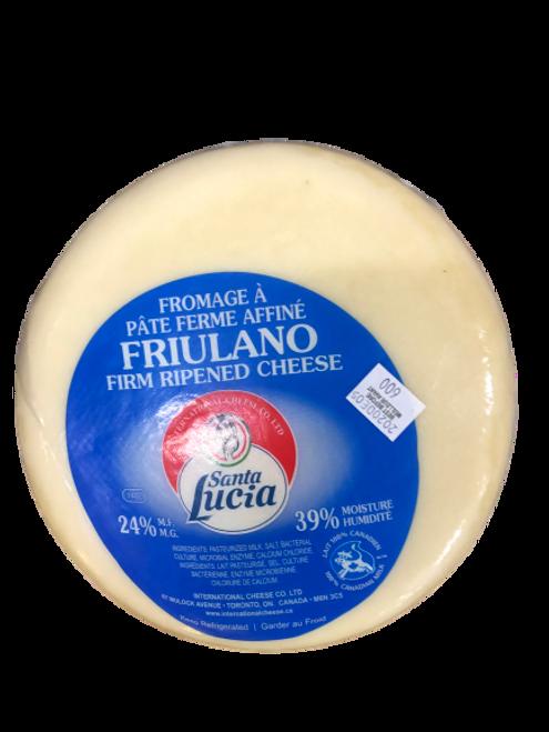 Santa Lucia Friulano Wheel Firm Ripened Cheese ~1.7kg