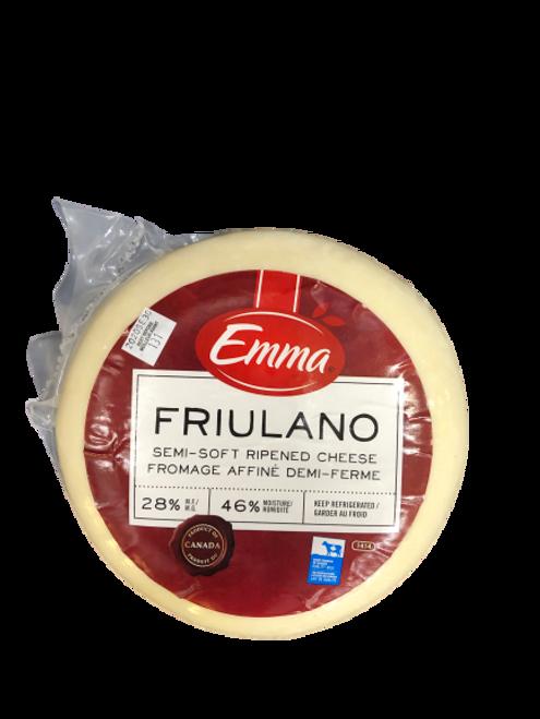 Emma Friulano Semi-Soft Ripened Cheese ~2kg