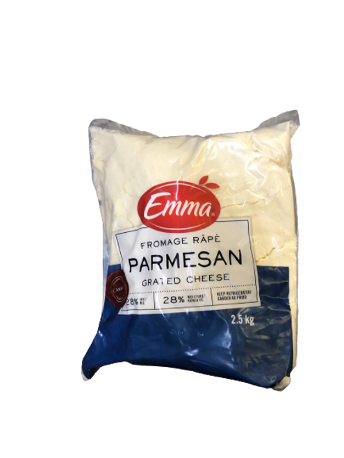 Emma Parmesan Grated Cheese 2.5kg