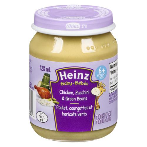Heinz Baby Chicken, Zucchini & Green Beans 128mL