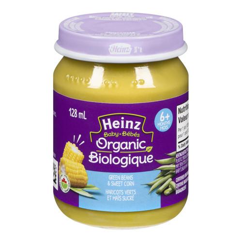 Heinz Baby Green Beans & Sweet Corn 128mL
