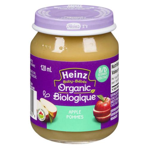 Heinz Baby Organic Apple 128mL