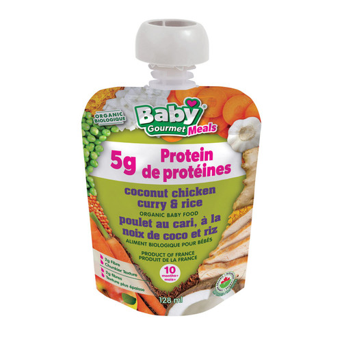 Baby Gourmet Coconut Chicken Curry & Rice 128mL