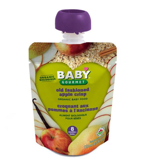 Baby Gourmet Old Fashioned Apple Crisp Organic 128mL