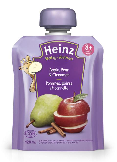 Heinz Baby Apple, Pear & Cinnamon  128mL