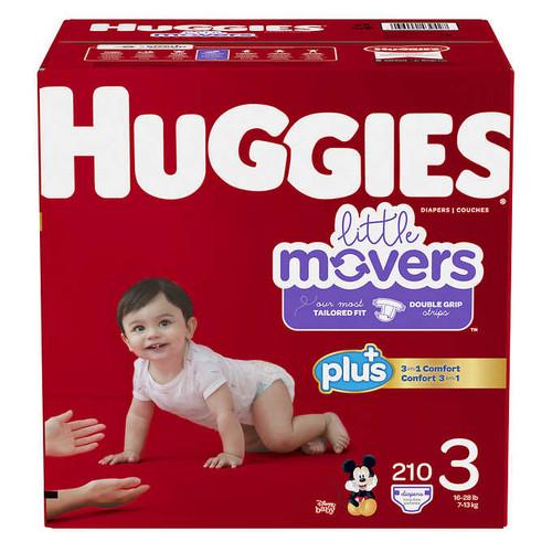 Huggies Plus Size 3 Diapers Pack of 210