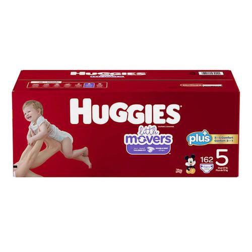 Huggies Plus Size 5 Diapers Pack of 162