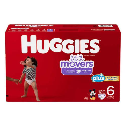 Huggies Plus Size 6 Diapers Pack of 120