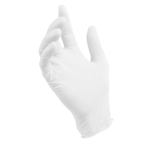 Latex Gloves Powder-Free Medium 100/Pack